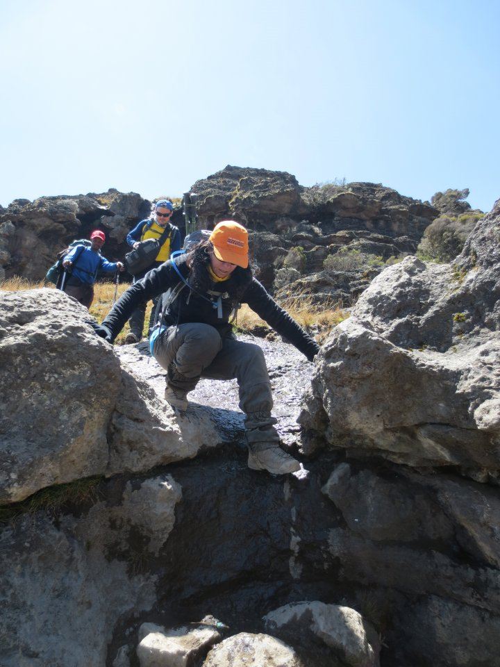 Picture of d4-Barranco to Karanga Camp-4630m